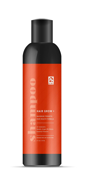 Hair Growth Shampoo with Argan Oil, Biotin & Keratin. Anti Hair Loss - For men & women By KIMI
