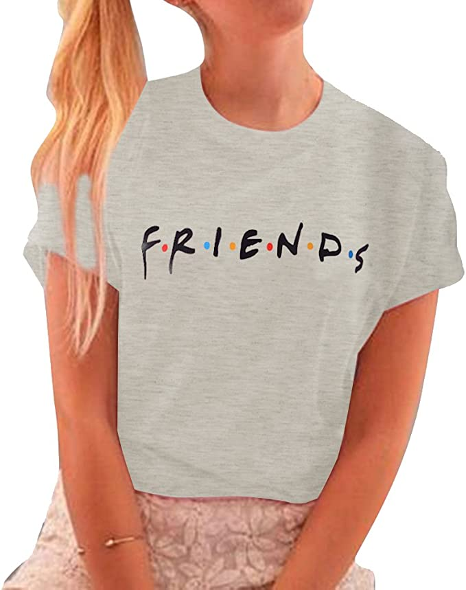 Details about  /FRIENDS TV Show Women/'s T Shirt Black Graphic Tee Short Sleeve Junior Medium NWT