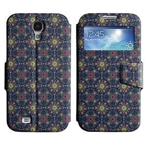 LEOCASE patrón increíble Funda Carcasa Cuero Tapa Case Para Samsung Galaxy S4 I9500 No.1005070