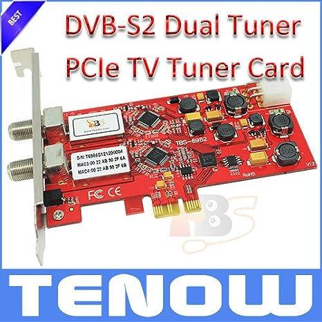 TV vía satélite tarjeta de TV MU Tarjeta TBS TBS6982 DVB-S2 ...