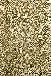 Sketchbook: Burnished Gold 6x9 - BLANK JOURNAL NO LINES - unlined, unruled pages (Patterns & Designs Sketchbook Series)