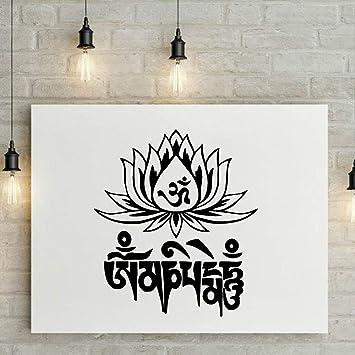 TYLPK Mandala Lotus Pvc Tatuajes de pared Decoración para el hogar ...