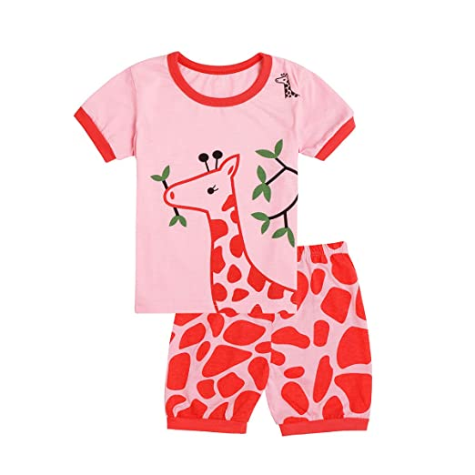 9338f8e27c Tkala Girls Pajamas Children Clothes Set Deer 100% Cotton Little Kids Pjs  Sleepwear (12month