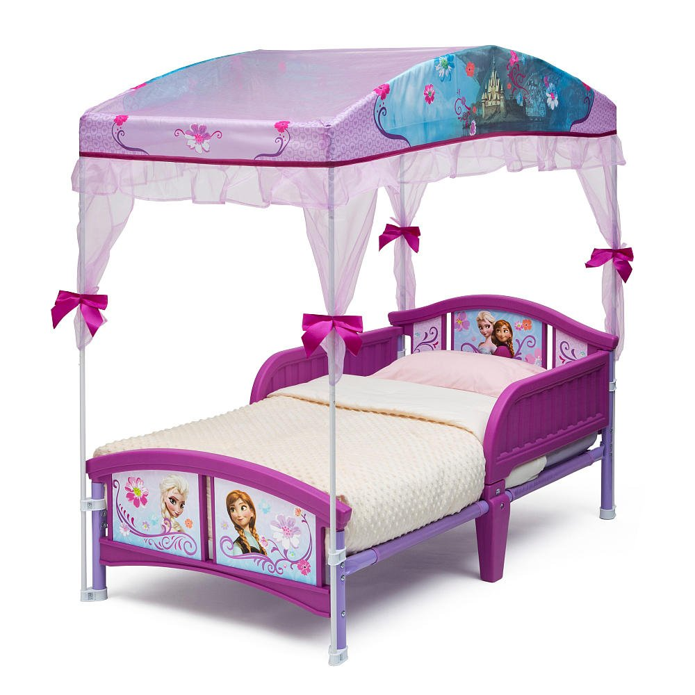 sc 1 st  Amazon.com & Amazon.com : Disney Frozen Canopy Toddler Bed : Baby