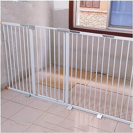 YONGYONG-Guardrail Barreras de Puerta Baby Gates Bar For Puertas De Mascotas Valla For Perros Escalera Interior For Perros Barandilla Pequeña Barandilla For Perros Aislamiento Grande: Amazon.es: Hogar