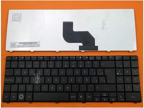 IFINGER Teclado español para Acer Aspire 5538G Negro Nuevo ...