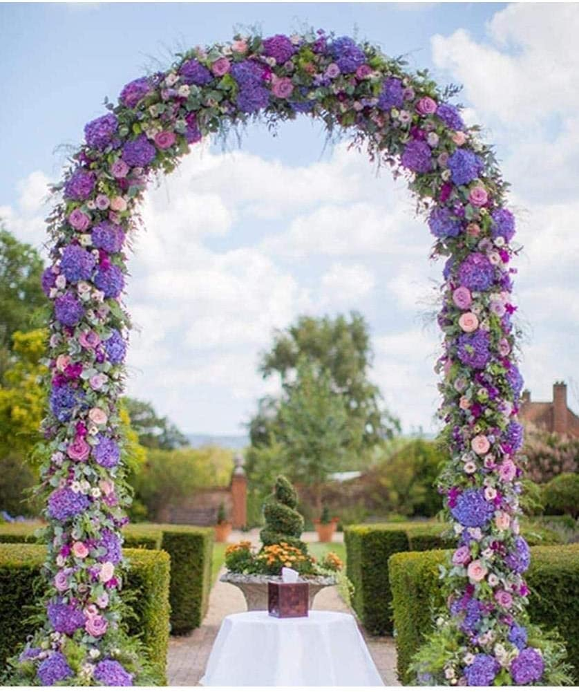 Outdoor Indoor Arch Wedding Party Bridal Party Decoration Livingshire 2.4m Metal Garden Arch Climbing Plants