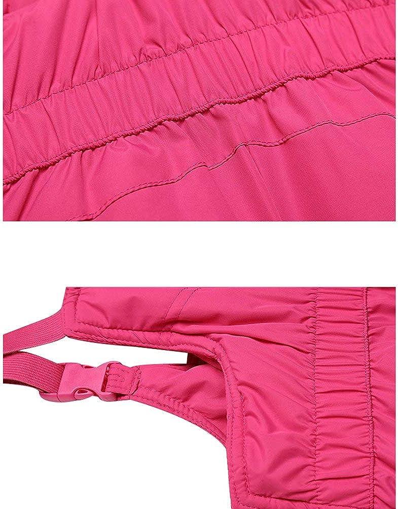 Happy childhood Baby Boys Girls Ski Bib Pants Kid Winter Warm Snow Trousers Windproof Waterproof Thicken Outerwear