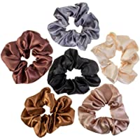 VAGA Cute Scrunchies For Hair 6 Colors Set, Our Hair Scrunchies Hair Elastics Ponytail Holder Pack Is Softer Then…