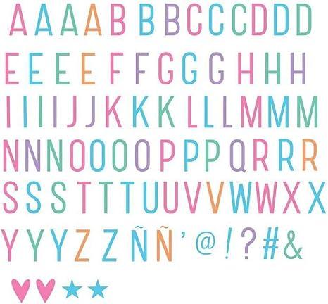 A Little Lovely Company LTLE005 - Letras y símbolos para Lightbox ...