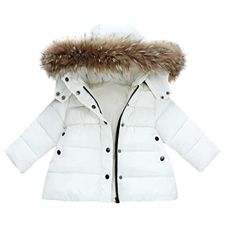 Little Girl Winter Warm Coat,Jchen(TM) Clearance Baby Girls Boys Kids Down