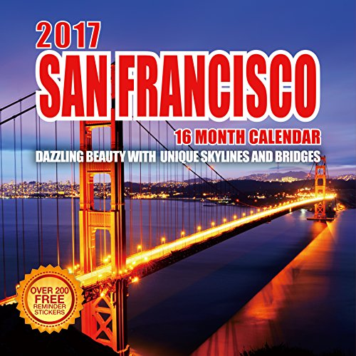 San Francisco Giant Schedule (2017 San Francisco Calendar - 12 x 12 Wall Calendar - 210 Free Reminder Stickers)