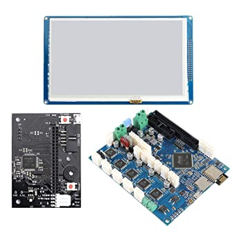 "Duet 2 WiFi V1.04 Upgrades Controller Board 32 Bit with 4.3/"" Touch Screen"