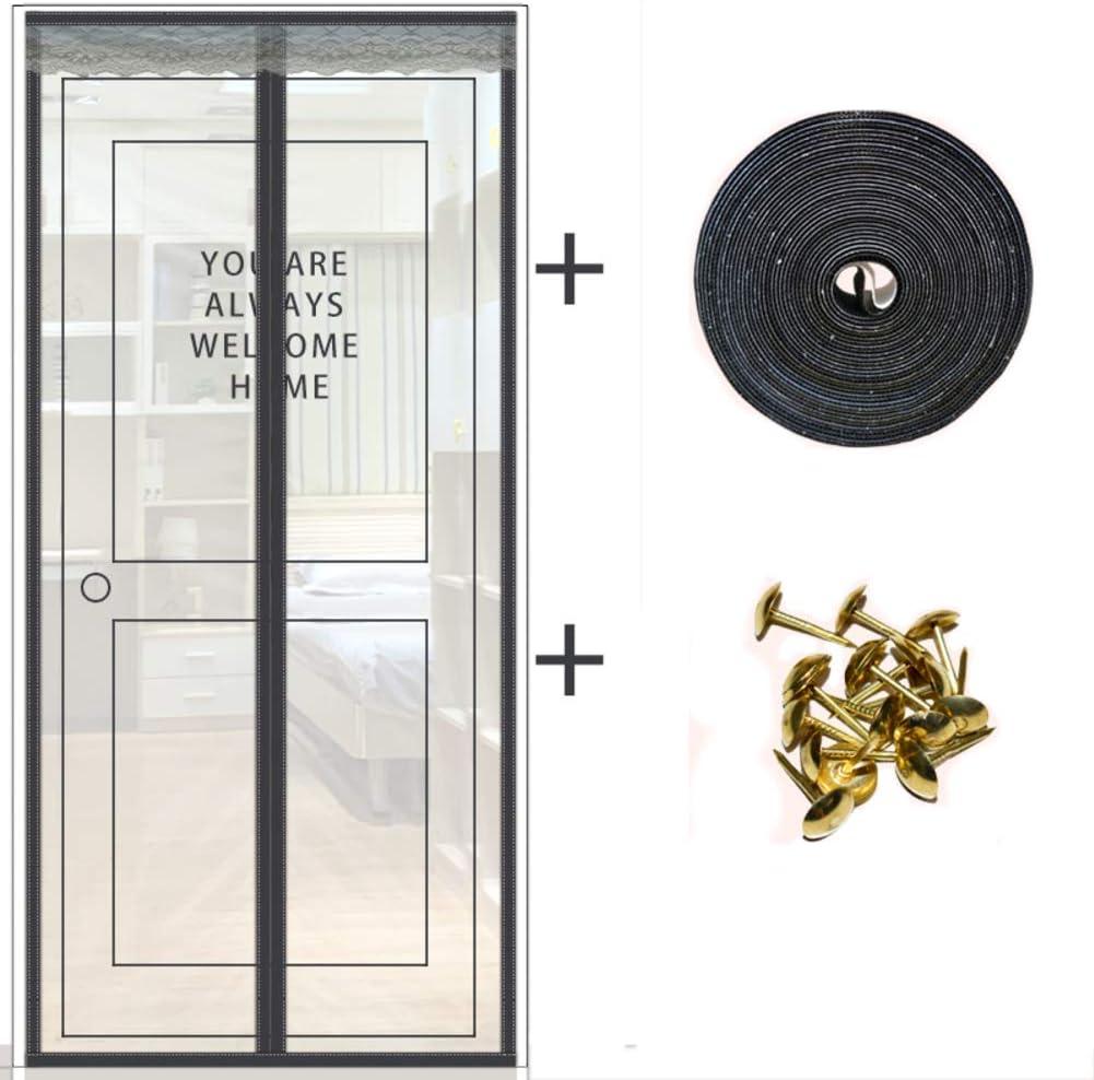 Moustiquaire de porte /à rayures magn/étiques FISOUL