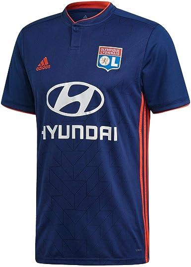 frecuentemente Nevada huella  adidas Olympique Lyonnais Men's Football Shirt, Mens, CK3172: Amazon.co.uk:  Clothing