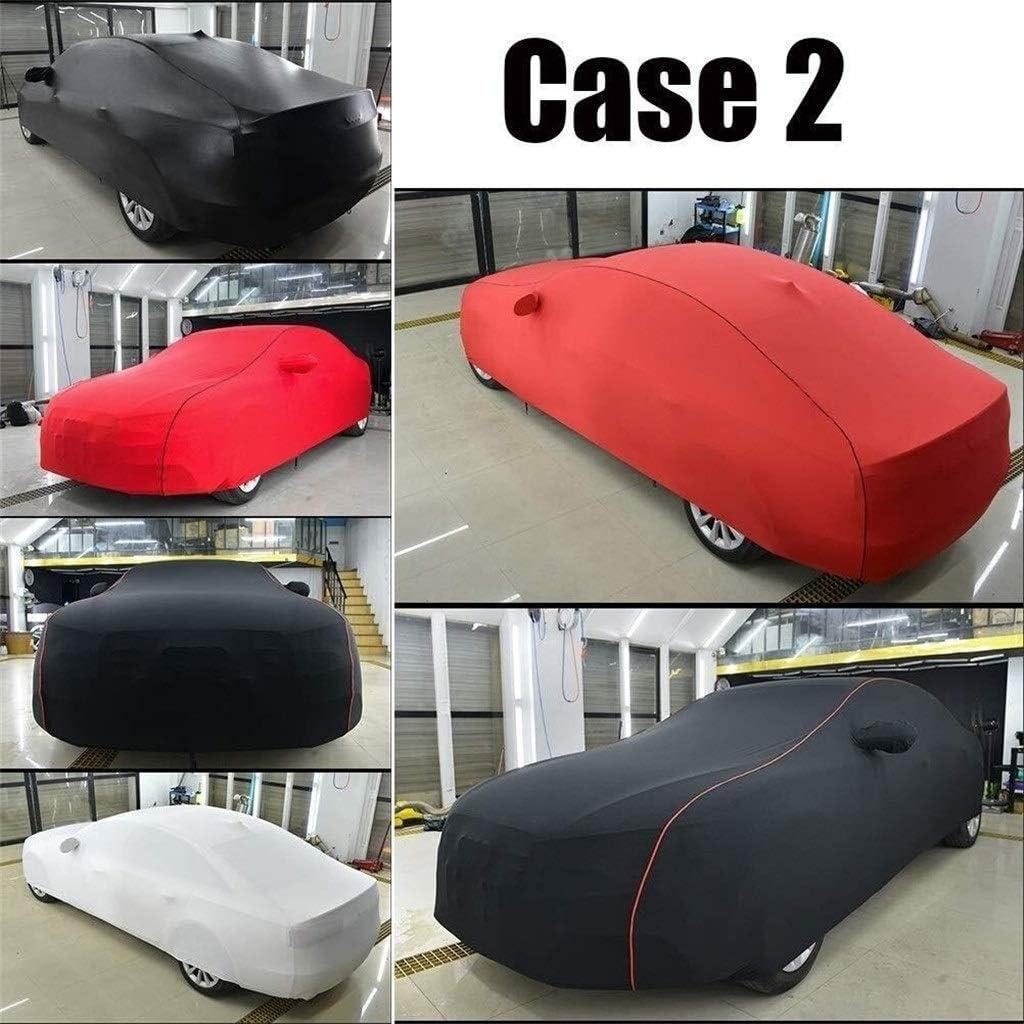 CHEYIFU Car Cover Compatible avec Renault Talisman Stretch personnalisable en velours noir Capuche int/érieur Salon de lauto b/âche pour voiture