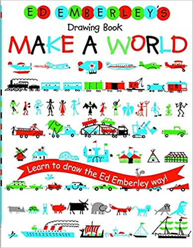 Make a World Ed Emberleys Drawing Book