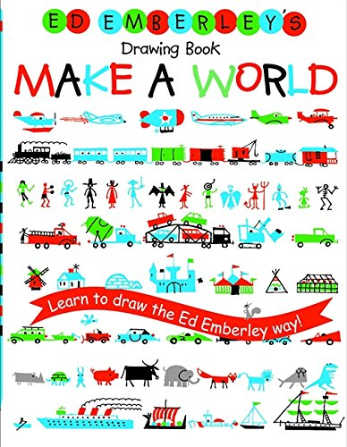 Ed Emberley's Drawing Book: Make a World [Ed Emberley] (Tapa Blanda)