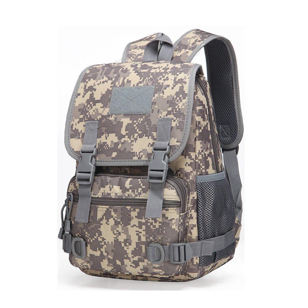 Tacticalバックパック、tyter Militaryバックパックアウトドアキャンプハイキングハントトレッキングアサルトリュックサック旅行用デイパックバッグ  ACU 迷彩 B078X9MZS4