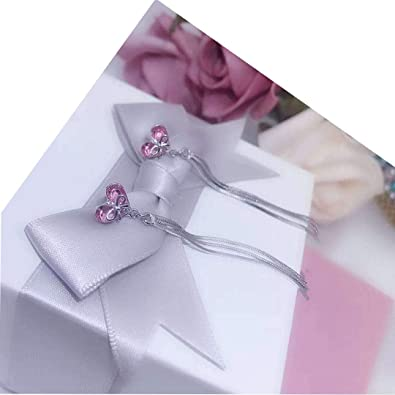 S925 Simple Earrings Young Lady Girls Birthday Valentines Day Gift