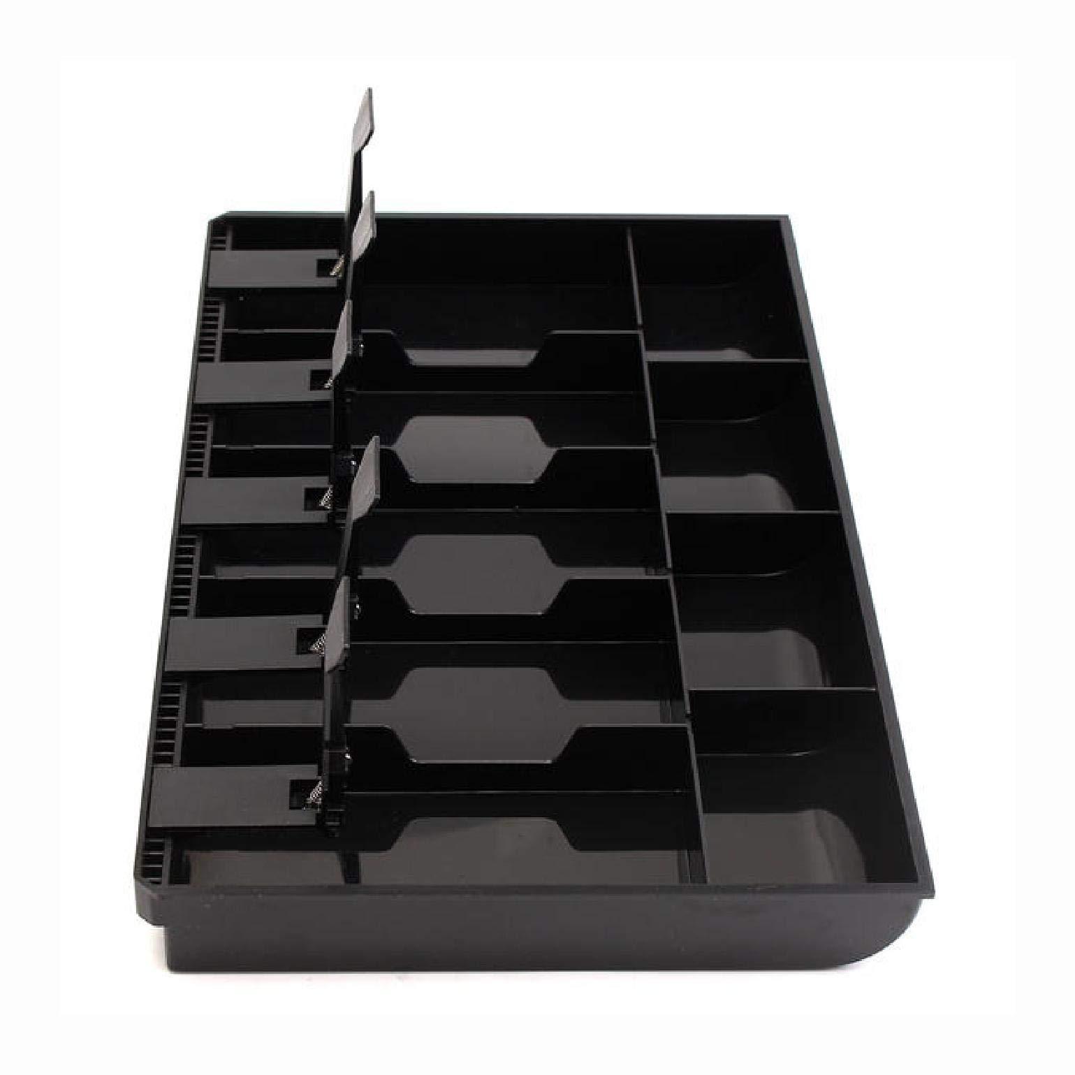 Storage & Organization, Cash Coin Register Insert Tray Replacement Money Drawer Storage Box, Black