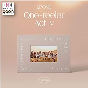 IZONE - 'One-Reeler' / Act IV [Scene #1 ver.] (4th Mini Album) [Pre Order] CD+Photobook+Folded Poster+Others with Tracking, Extra Decorative Stickers, Photocards