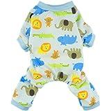Fitwarm® Cute Lion Dog Pajamas Dog Jumpsuit Dog Clothes Soft Dog Shirt