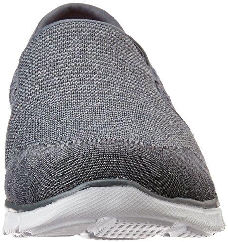 Skechers Damen EqualizerSay Something Sneakers Grau (Char)