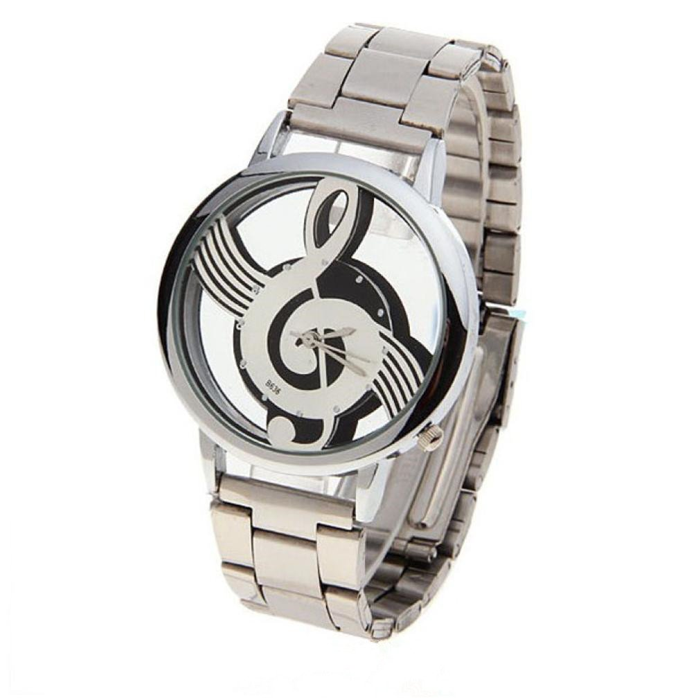 Reloje Hombre,Xinan Notación Musical del Metal Reloj del ...