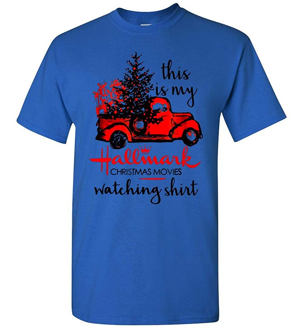 This Is My Hallmark Christmas Movies Tshirt Adult And