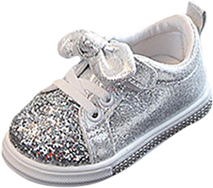 Cute Kids Girls Cat Bowknot PU Leather Comfy Kitten Cartoon Slip on Flats Shoes