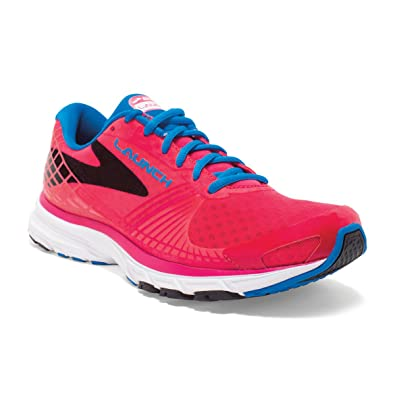 Brooks Women's Lauch 3 Running Shoes Myla Pink|Electric Blue Lemonade| Black
