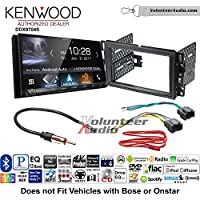 Volunteer Audio Kenwood DDX9704S Double Din Radio Install Kit with Apple Carplay Android Auto Fits 2007-2013 Silverado, Avalanche
