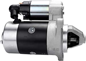 Starters,ECCPP Fit For Yanmar Engines- Industrial GA220 - GA340 1993-2004 L35 - L100 1983-1994 Dynapac Compactor LH300 Yanmar 2000-2009 Etnyre Misc. Equipment XL20 L100AE-DE Yanmar Eng 1996-2005 18203