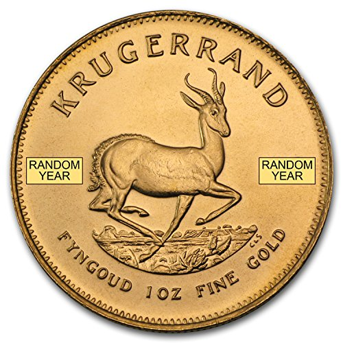 1967 ZA - Present South Africa 1 oz Gold Krugerrand (Random Year) 1 OZ About Uncirculated ()