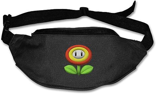 Baisui Super Mario Bros - Riñonera con Correa Ajustable para Correr: Amazon.es: Jardín
