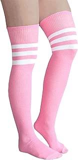 product image for Chrissy's Socks Women's Thigh High Striped Tube Socks