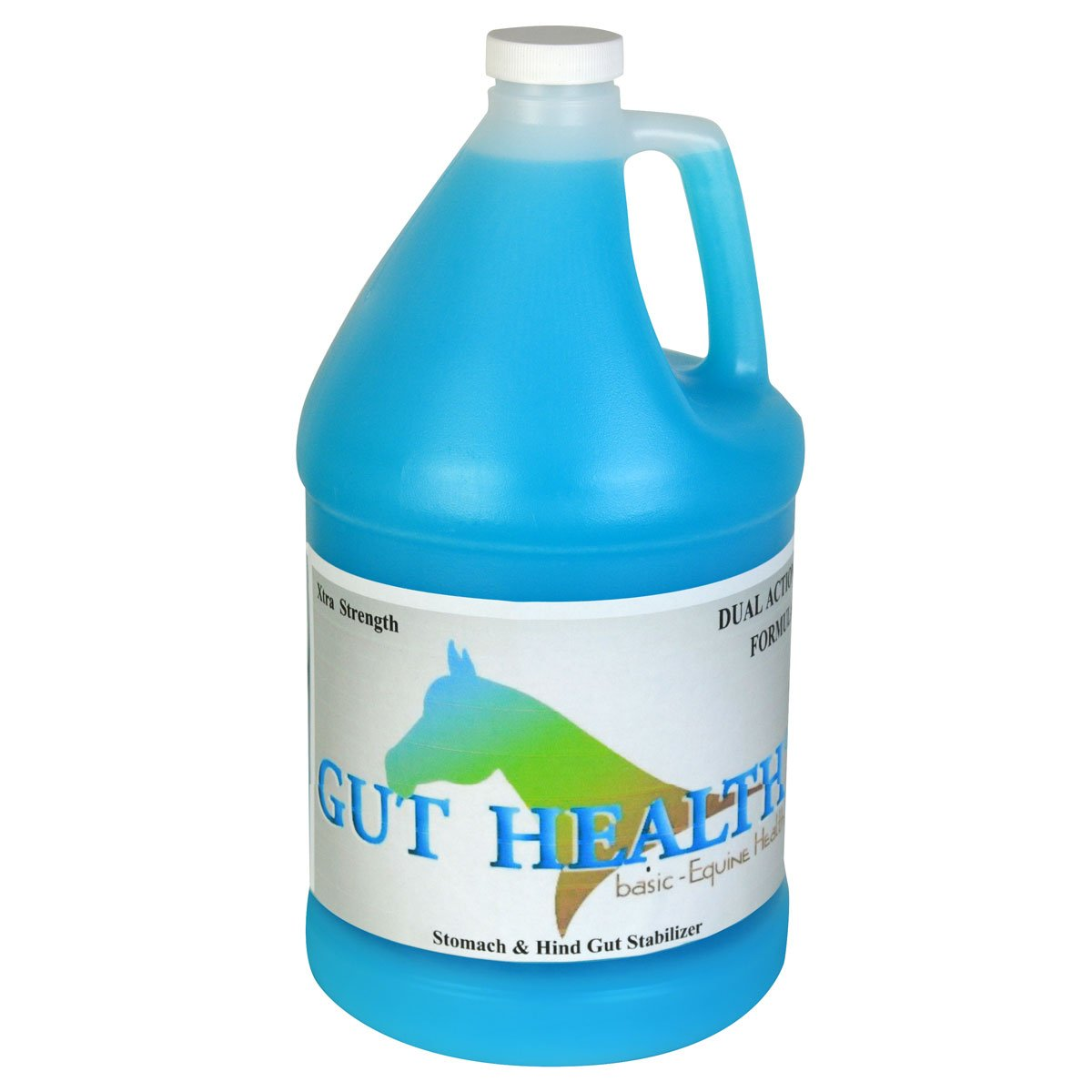 Gut Health Horse Ulcer Supplement - Original Top Dress (1 Gallon) - Ulcer Aid for Horses That Promotes Weight Gain, Improved Mood, Coat, and Hoof Growth