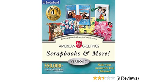 Amazon american greetings scrapbooks more 7 jewel case m4hsunfo