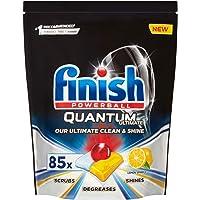Finish Quantum Ultimate Dishwasher Tablets, Lemon Scent - 85 Tabs