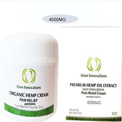4000 MG Hemp Pain Relief Cream Premium