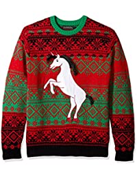Men's Dark Unicorn Crew Neck Ugly Xmas