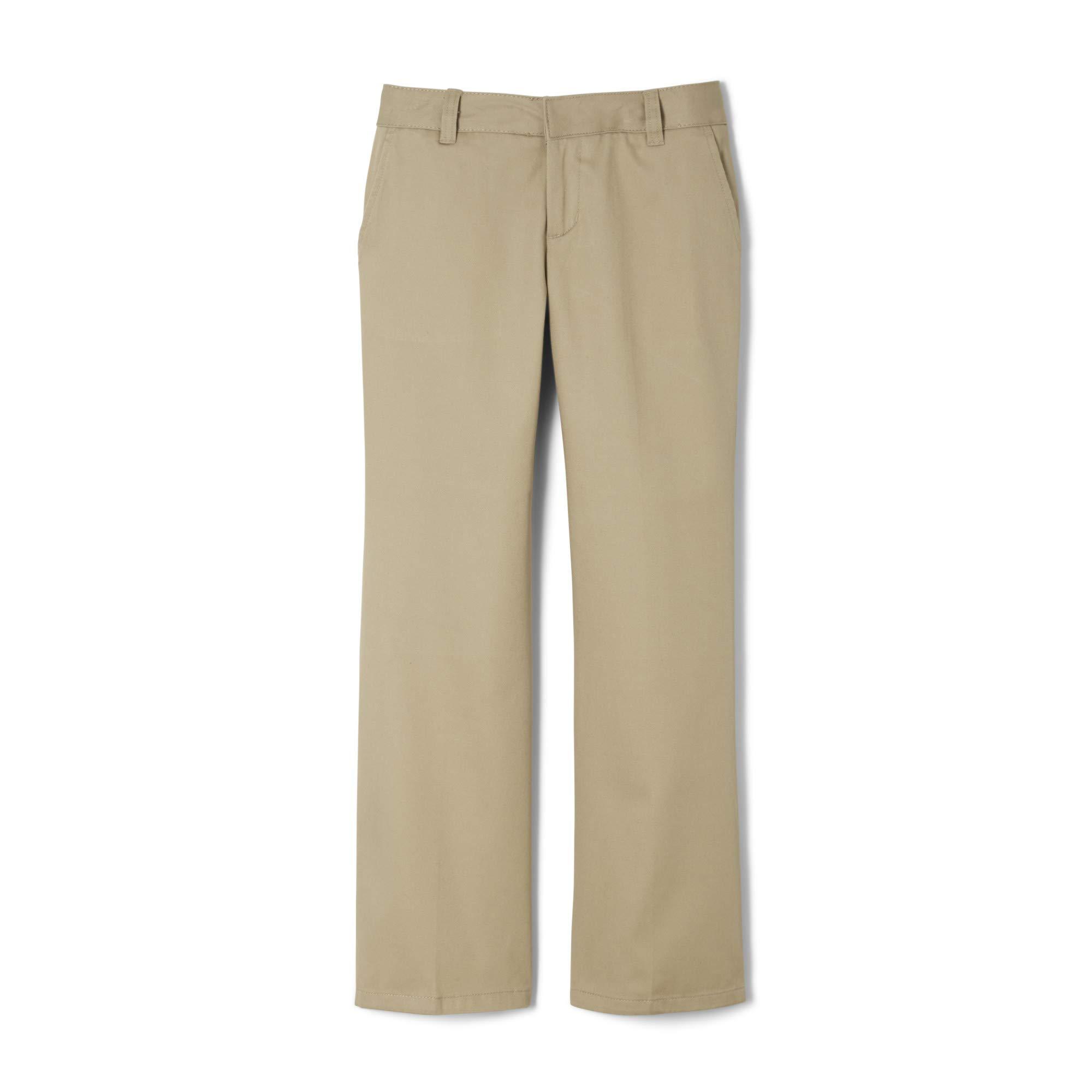 French Toast Girls Plus Size' Bootcut Pant, Khaki, 12.5