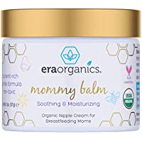 Soothing Nipple Cream for Breastfeeding Moms 100% Natural, USDA Certified Organic Healing Balm For Chapped, Irritated…