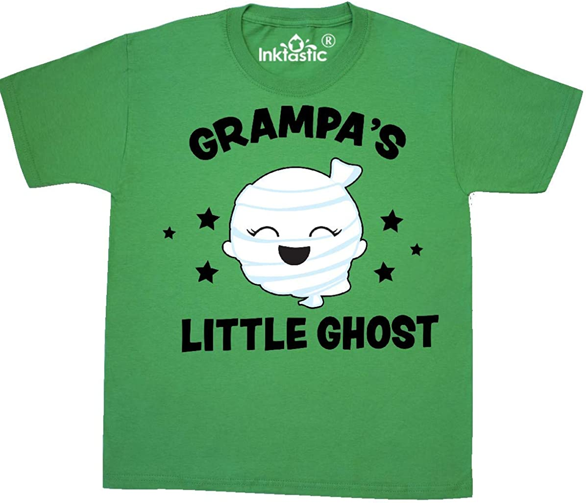 inktastic Cute Grampas Little Ghost with Stars Baby T-Shirt