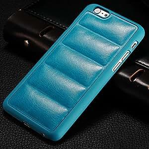 """100 pcs/lot For Apple iPhone 6 6g 4.7"""" Vintage PU Leather Back Plastic Frame Hard Case Black Brown Phone Bag Cover Wholesale DHL --- Color:black"""