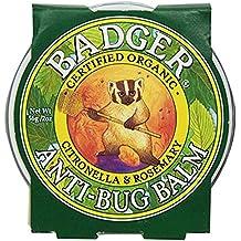 Badger Anti-Bug Balm,citronella & Rosemary 2 oz