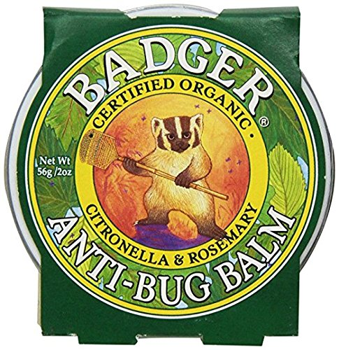 Badger Watch - Badger Anti-Bug Balm,citronella & Rosemary 2 oz