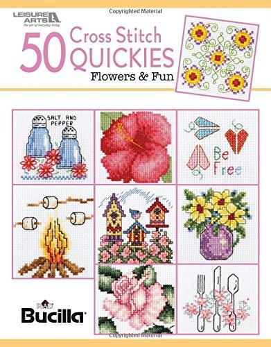 50 Cross Stitch Quickies Flowers | Cross Stitch | Leisure Ar