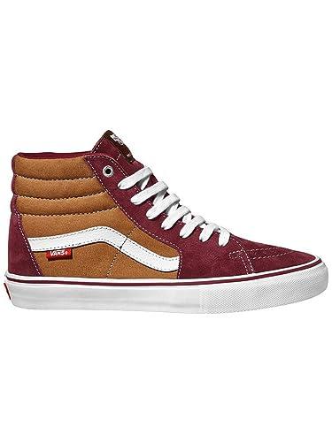 eca1f8c0ef Vans Men s Sk8-Hi Pro Skate Shoe Port Bronze ...